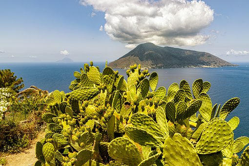 Aeolian Islands, Sicily, Landscape, Italy, Nature, Sea