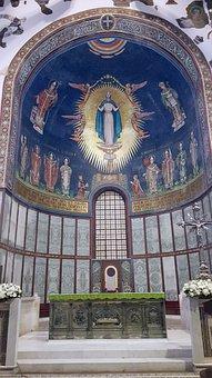 Cathedral, Salerno, Sanctuary, Art, Religion