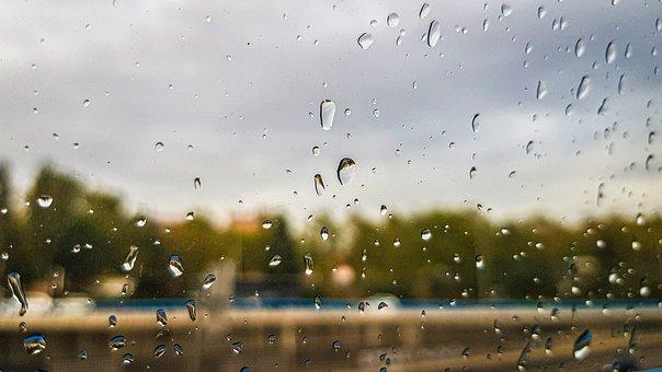 Rain, Glass, Storm, Car, Lead, Danger, Melancholy