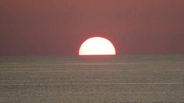 Earth Hour, Sun, Sea, Nature, Summer, Sunlight, Mood