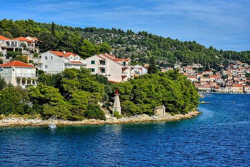 Vela Luka, Croatia, Korcula, Tourism, Summer, Holiday