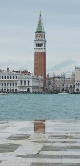 Campanile Of San Marco, Venice, Cityscape, Travel