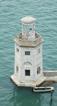 Venice, S, Giorgio Maggiore, Italy, Lighthouse, Water