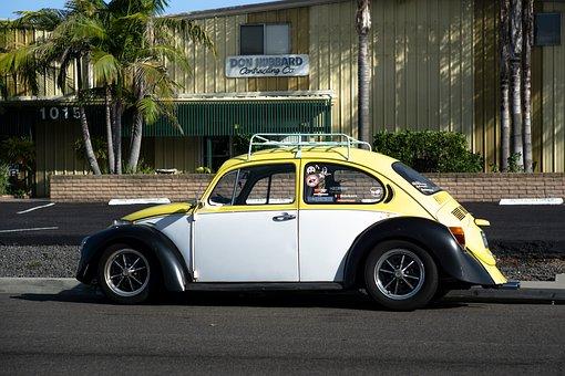Vw Beetle, Vw, Volkswagen, Car, Classic, Oldtimer