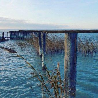 Lake Neusiedl, Burgenland, Lake, Nature, Water, Bank
