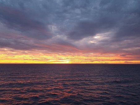 Sea, Waves, Sky