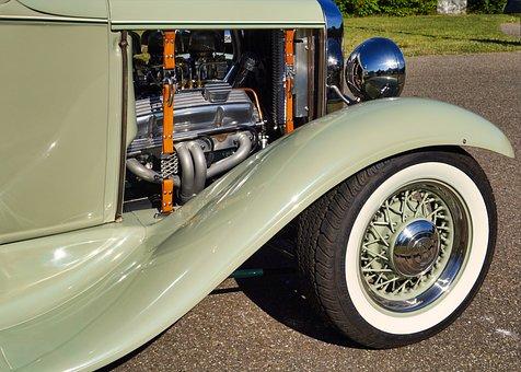 Auto, Oldtimer, Motor, Automotive, Retro, Classic