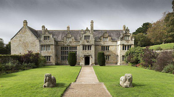 Trerice In Cornwall, Elizabethan Manor House