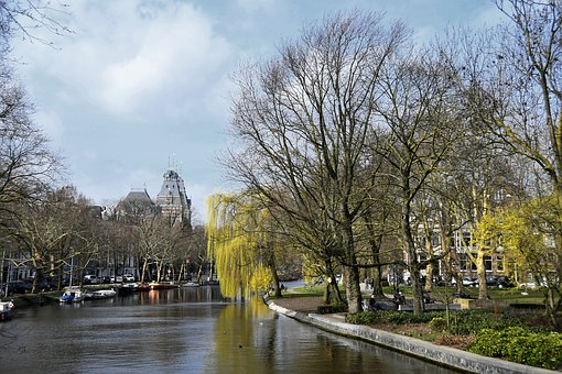 Amsterdam, Channels, Europe, Holland