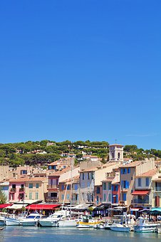 France, Cassis, Port, Mediterranean