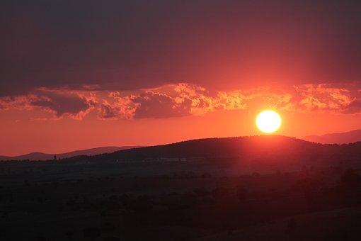 Solar, Orange, Clouds, Sky, Offer, Nature, Sunrise