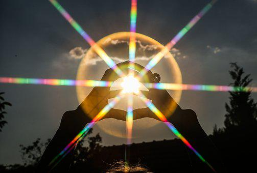 Sun, Hand, Rays, Nature, Human, Joy, Light, Hands, Sky