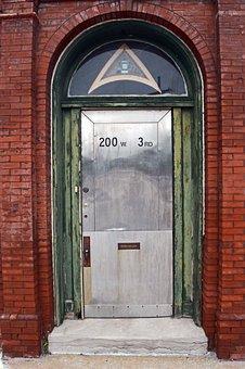 Door, Historic Door, Antique Door, Vintage Door