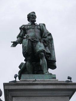 Antwerp, Rubens, Statue, Belgium, Tourism