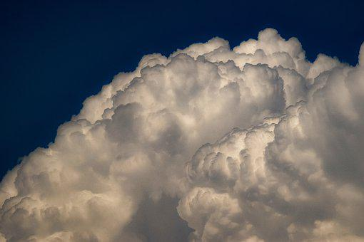 Clouds, Sky, Nature, Weather, Atmosphere, Cumulus