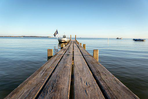 Web, Boat, Water, Baltic Sea, Lake, Port, Landscape
