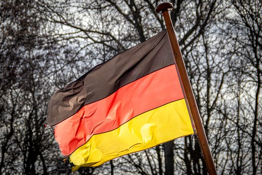 Flag, Germany, Colorful, Red, Yellow, Black, German