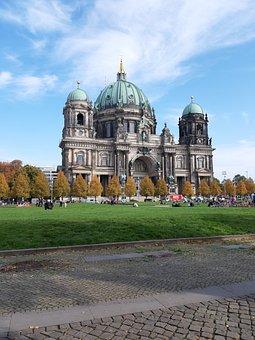 Berlin, Capital, Dom, Building, Architecture