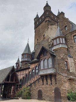 Imperial Castle, Cochem, Mosel, Sachsen, Castle