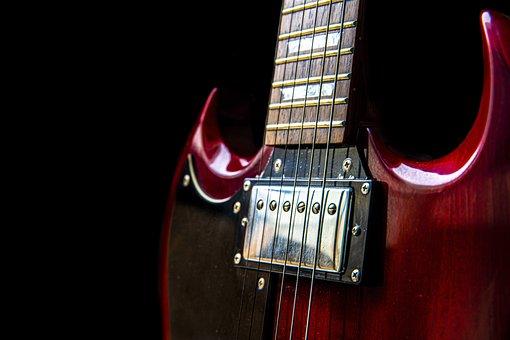Close Up, Guitar, Handle, Strings, Instrument, Musician
