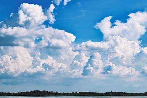 Sky, Cloud, Blue, Landscape, Scenery