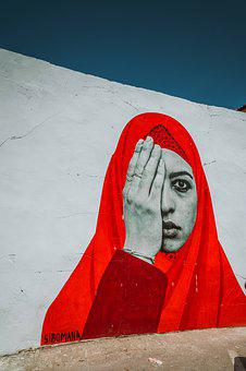 Cyprus, Headscarf, Second Eye, With The Second, Hand