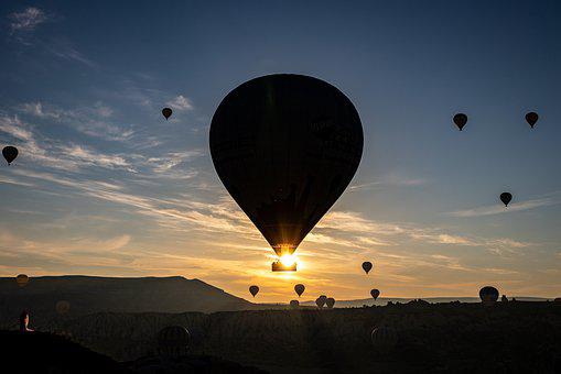 Hot Air Balloon, Cappadocia, Turkey, Balloon, Dawn