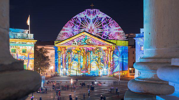 Festival Of Lights, Berlin, 2019, St