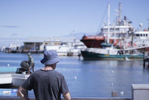 Boats, Harbour, Harbor, Tourism, Posing, Tourists