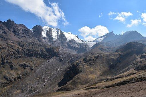 Peru, Mountains, Landscape, Nature, South America