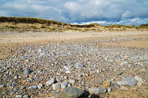 Beach, Pebbles, Sand, Stones, Zen, Natural, Peace
