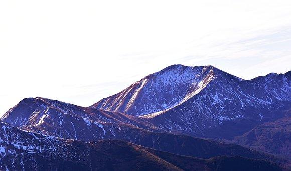 Mountains, Earth Hour, Zakopane, Snow, Red Mountains