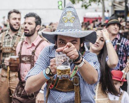 Oktoberfest, Blumenau, Brazil, Parade, People, German