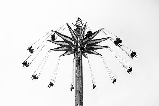 Roller Coast, Park, Holidays, Fun, Toy, Kid, Vacation