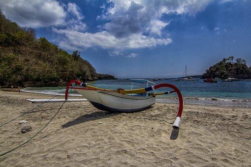 Boat, Sand, Sea, Beach, Landscape, Castle, Travel