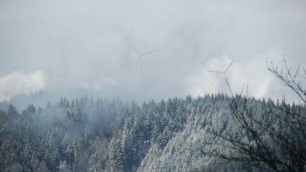 Winter, Wintry, Snow, Nature, Cold, Mountains, Forest
