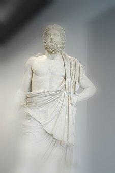 Zeus, King, God, Legend, Statue, Culture, Antique, Myth