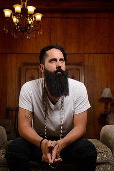Man, Beard, Beards, Bearded, Guy, Pose, Portrait
