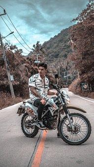 Motorcycle, Travel, Naure, Motorbike, Bike, Road, Biker