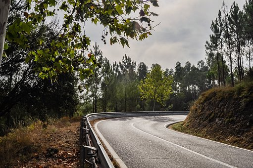 Road, Curve, Corner, Landscape, Nature, Travel, Trip