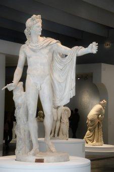 Apollo, Belvedere, Léocharès, Antique, Sculpture