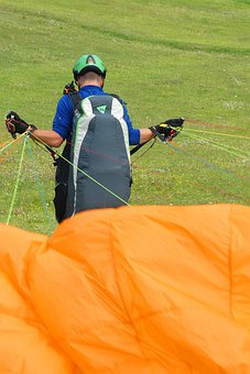 Paragliding, Sports, Jump, Adventure, Skydiving, Action