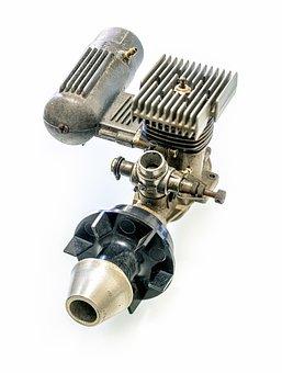 Antique Aviation Engine, Antique, Aviation, Engine