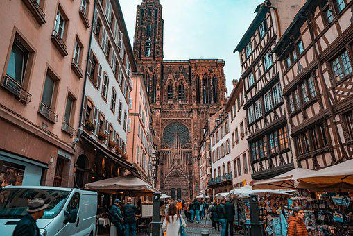 Cathedral, Strasbourg, Architecture, Building, Monument