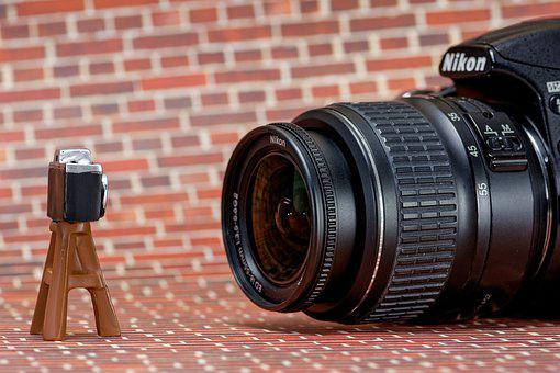 Nikon, Camera, Photograph, Slr Camera, Photo, Lens