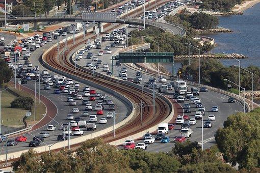 Congestion, Road, Traffic, Cars, Buildup, Freeway