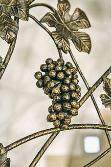 Smith, Gold, Grapes, Wine, Leaf, Interior