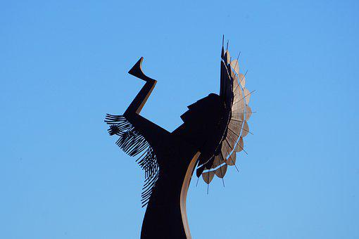 Keeper Of The Plains, Native American, Wichita, Kansas