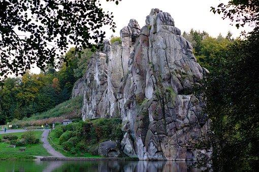 Externsteine, Stones, Rock, Sandstone-rock Formation