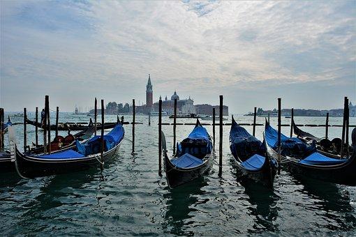 Italy, Venice, Santa Maria Maggiore, Channel, City